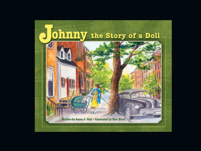 Johnny, The Story of a Doll Book