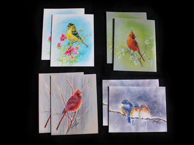 Assorted Bird Cards