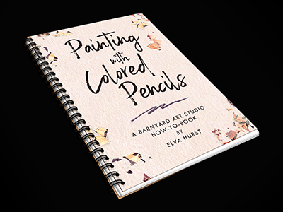 Painting with Colored Pencils Instructional Book
